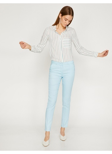 Koton Slim Fit Pantolon Mavi